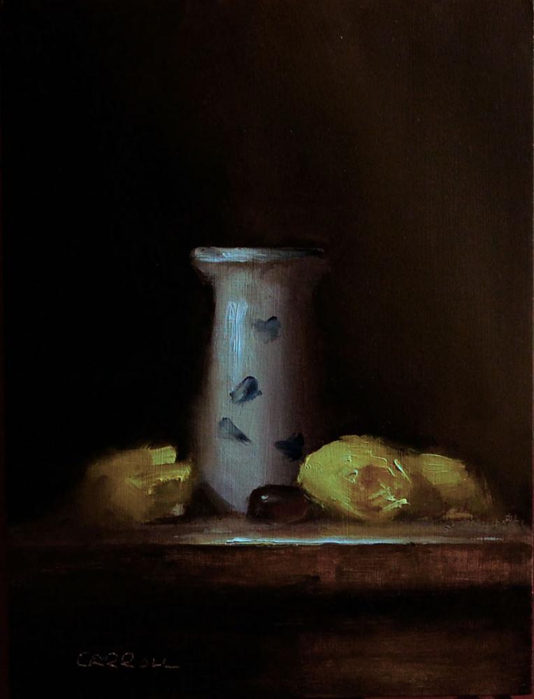 """""""Rose Heads"""" original fine art by Neil Carroll"""