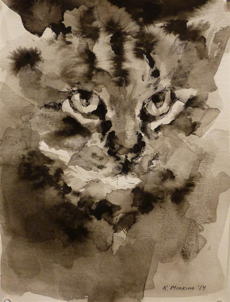 """adopt32"" original fine art by Katya Minkina"
