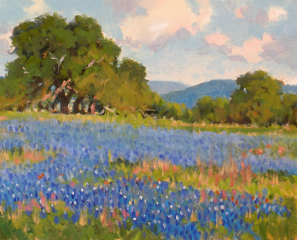"""Spring Blues"" original fine art by David Forks"