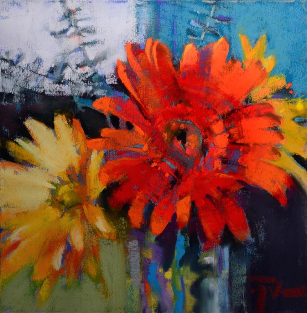 """Scarlet Moment"" original fine art by Jennifer Evenhus"