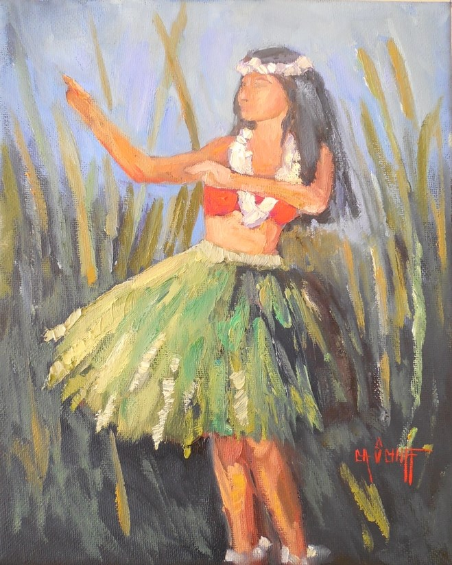 """Hula Painting 