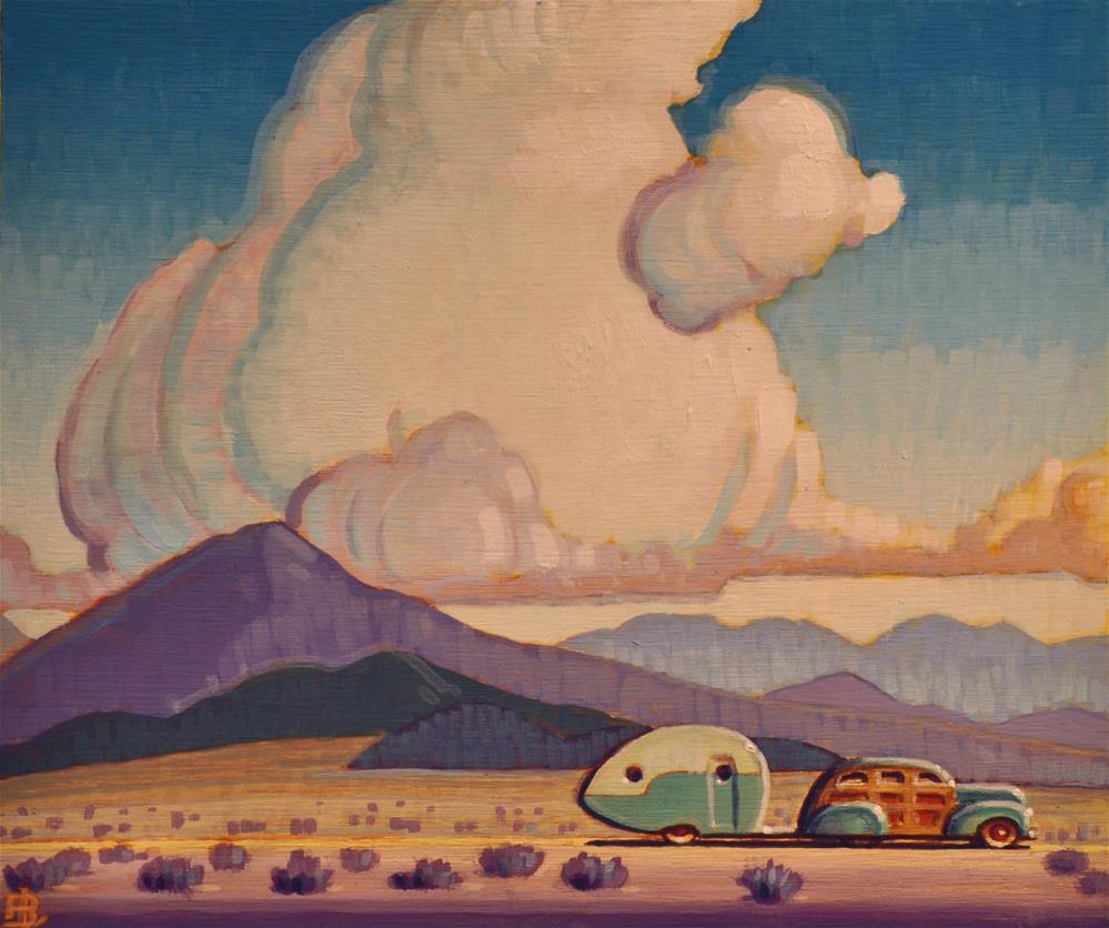 """Southwest"" original fine art by Robert LaDuke"
