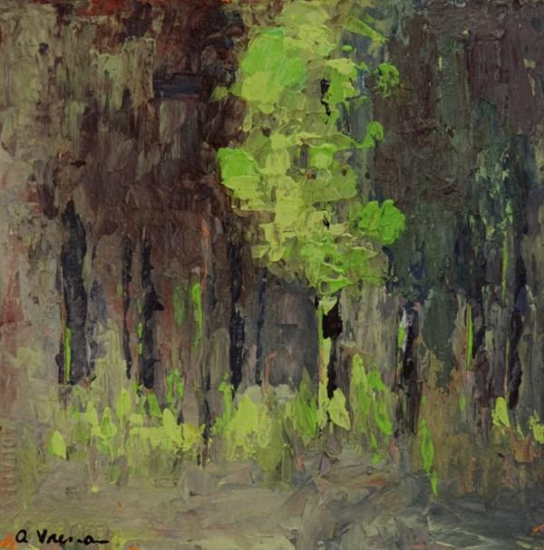"""""""Spring Poplar"""" original fine art by Anna Vreman"""