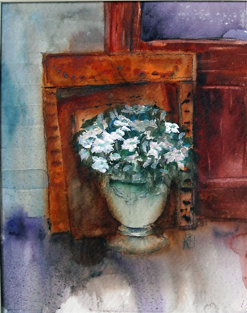 """Softly Remembered"" original fine art by Kathleen Barnes"