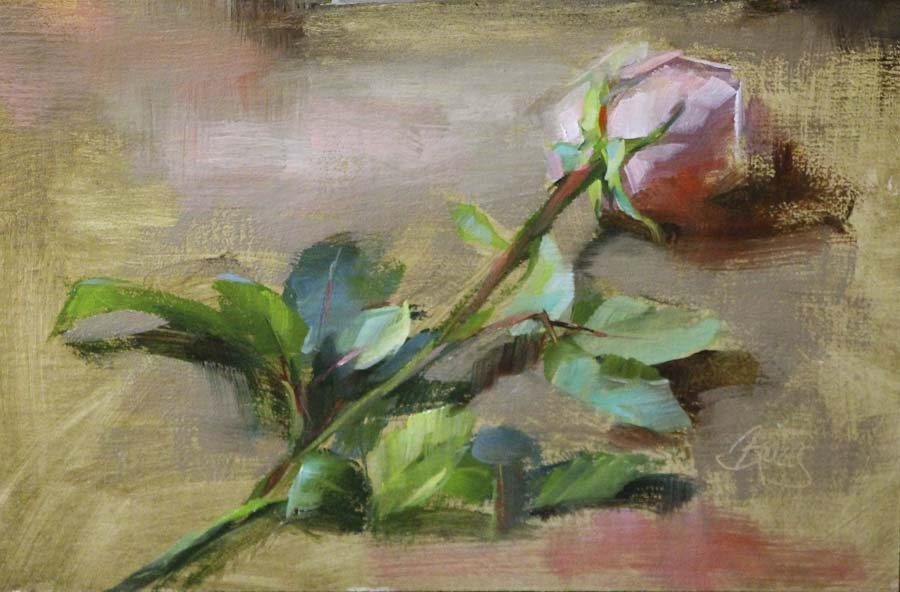 """Pink"" original fine art by Pamela Blaies"