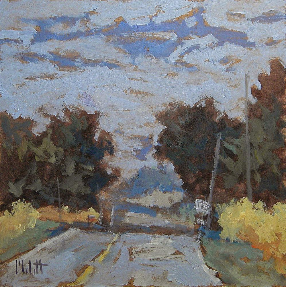 """Contemporary Impressionism Summer Country Road Original Oil Painting"" original fine art by Heidi Malott"