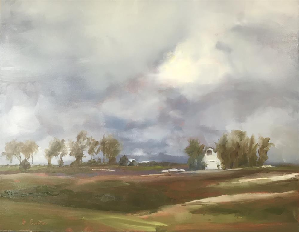 """Along The Way"" original fine art by Gary Bruton"