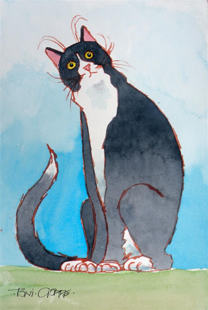 """""""You Want…WHAT?"""" original fine art by Toni Goffe"""