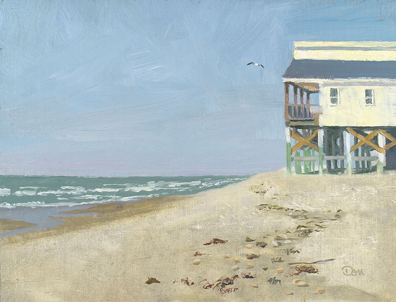 """East End of Ocean Isle"" original fine art by Don Stewart"
