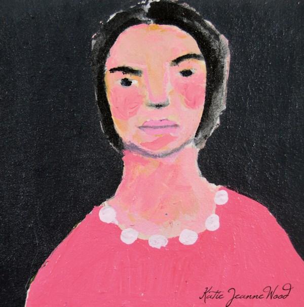 """""""Deborah"""" original fine art by Katie Jeanne Wood"""