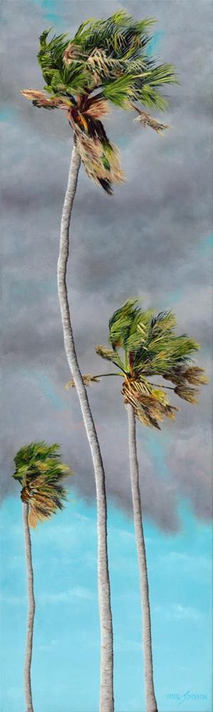 """""""Taking It Breezy"""" original fine art by Wendi Vann Johnson"""