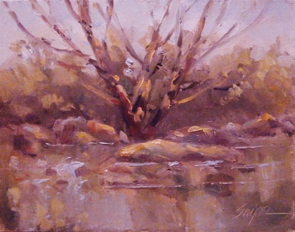 """A Tree for Baby"" original fine art by Connie Snipes"