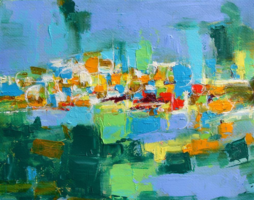 """""""Portside"""" original fine art by Elizabeth Chapman"""