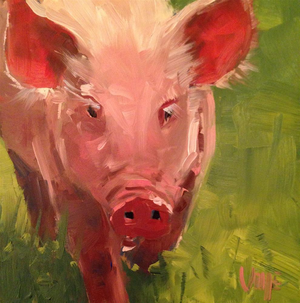 """""""#129 Headed to the Fair"""" original fine art by Patty Voje"""