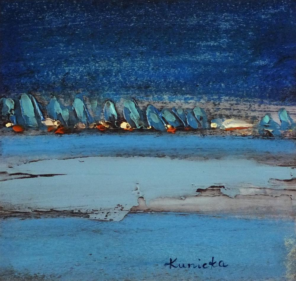 """Landscape 178"" original fine art by Ewa Kunicka"