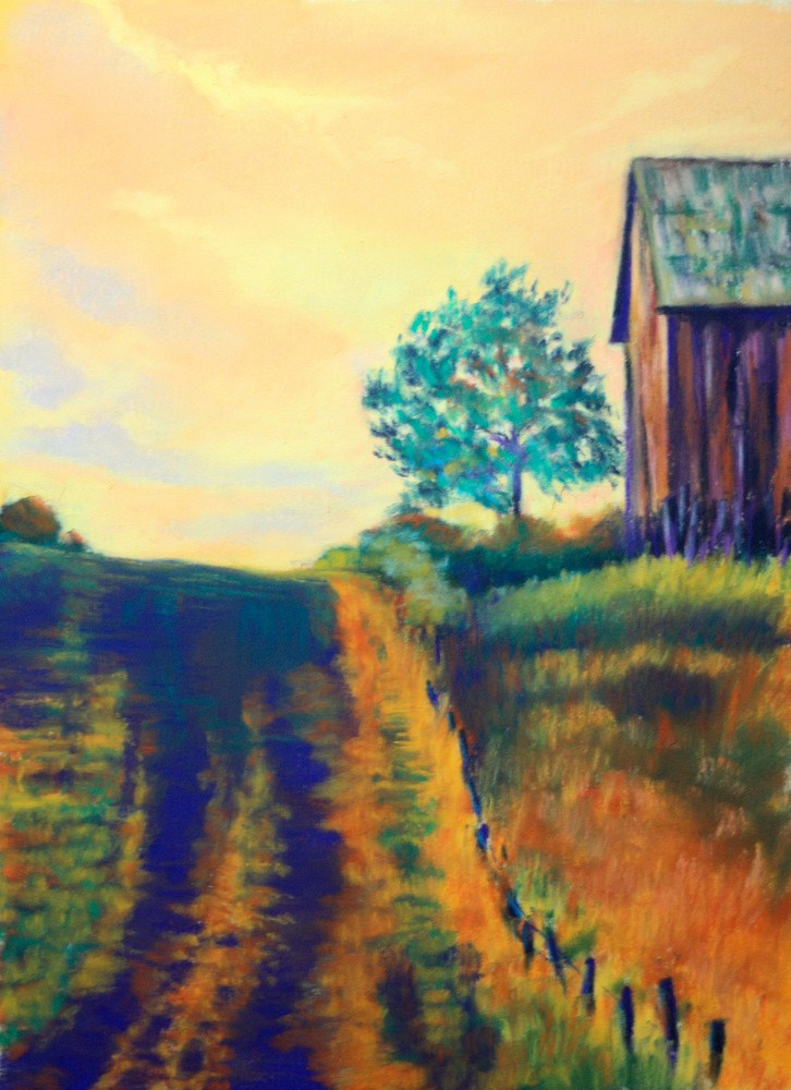 """Almost Home"" original fine art by Jill Bates"