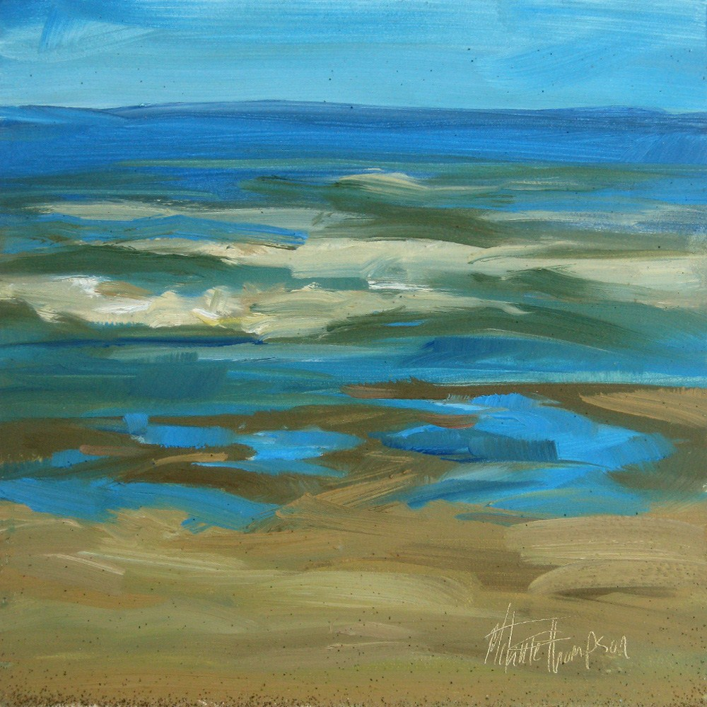 """Tidal Pool Jigsaw"" original fine art by Melanie Thompson"