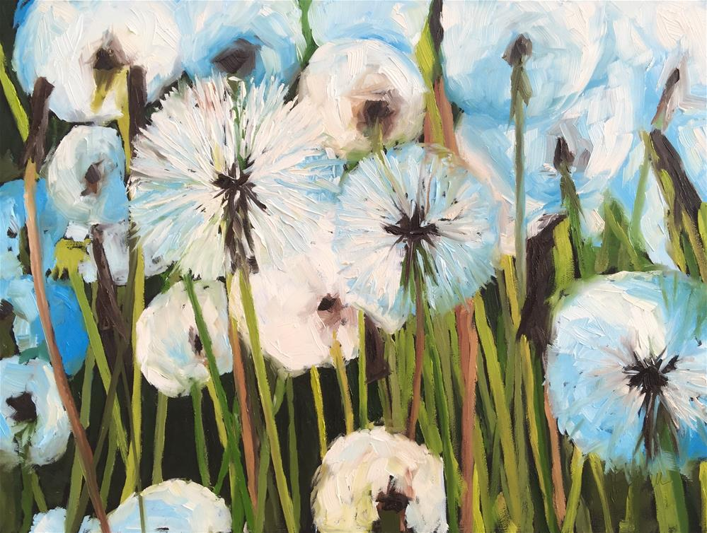 """Free Wishes"" original fine art by Hallie Kohn"
