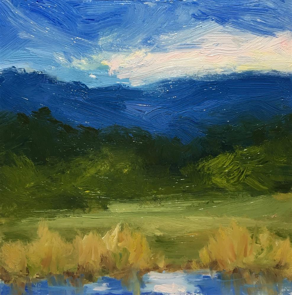 """Finley Wetlands "" original fine art by Victoria  Biedron"