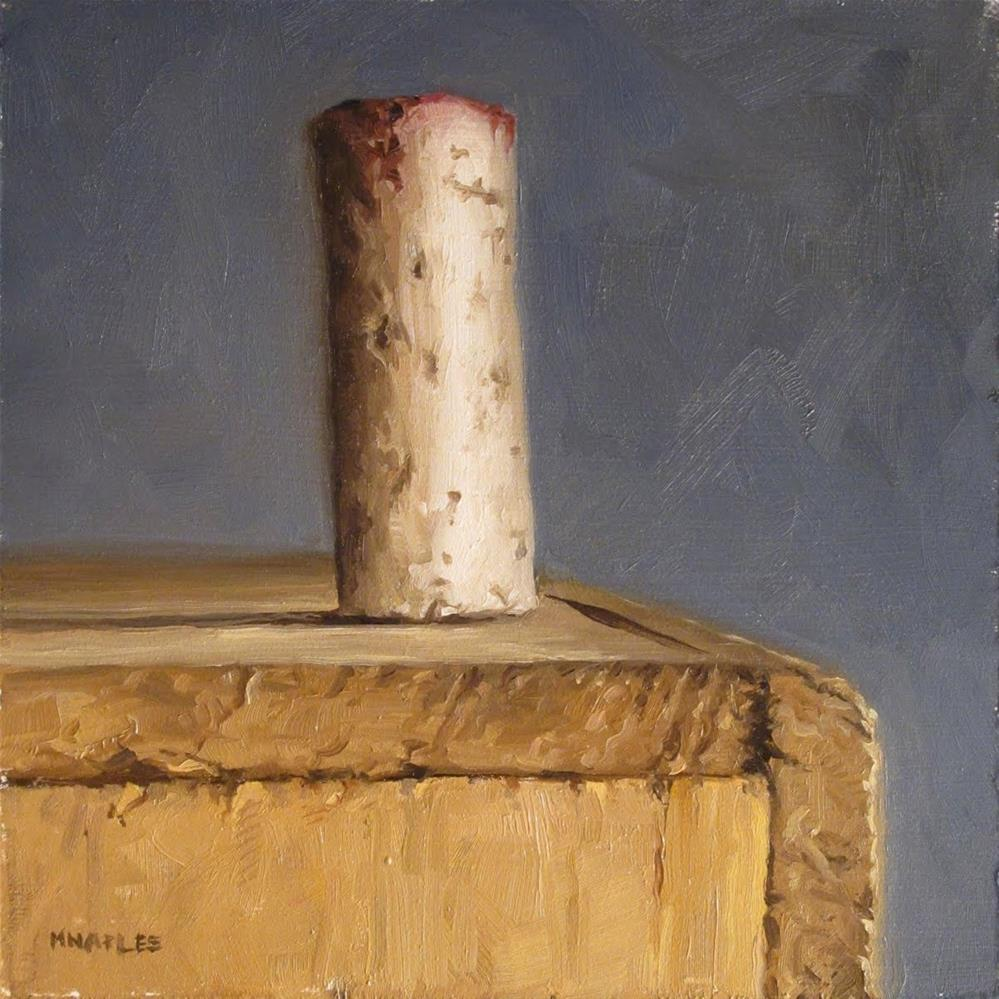 """Top Cork"" original fine art by Michael Naples"