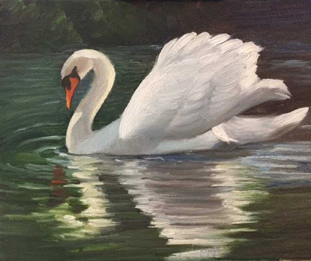 """Smooth Sailing"" original fine art by Carole Chalmers"