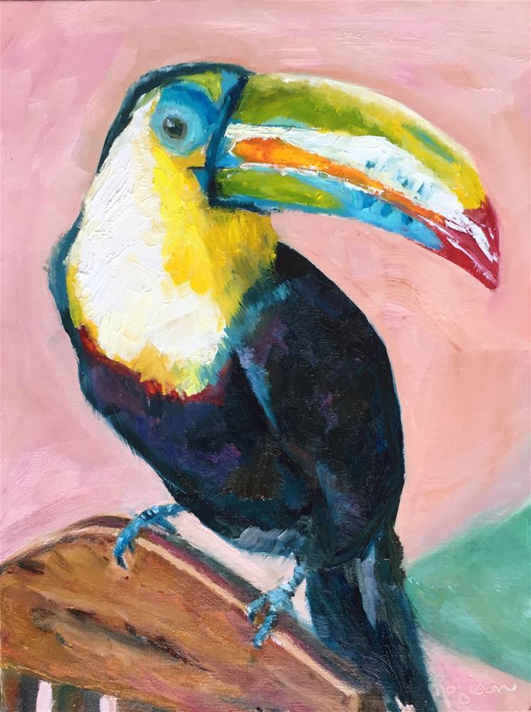 """Colorful Costa Rica"" original fine art by Renee Robison"