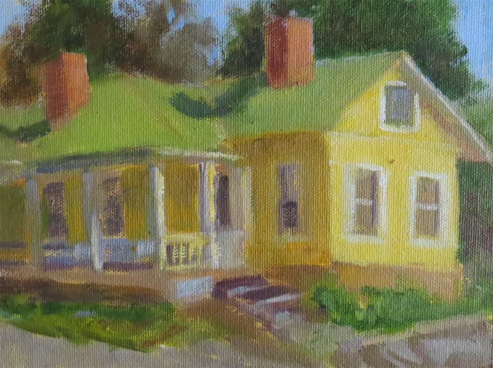 """Old Yeller"" original fine art by Pam Holnback"