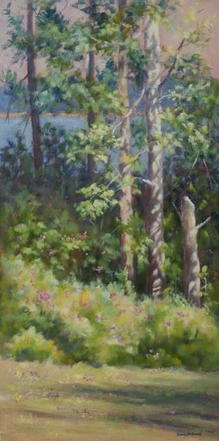 """Summer Has Arrived & Timed Blooms!"" original fine art by Debbie Lamey-Macdonald"