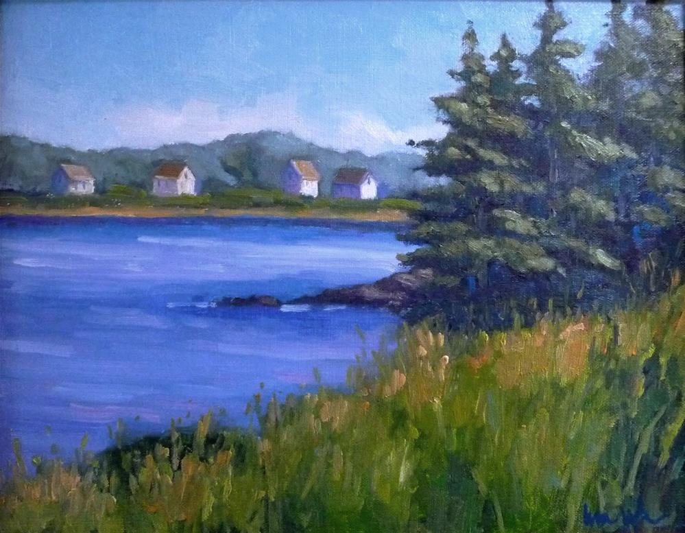 """Coastal Maine"" original fine art by Lisa Kyle"
