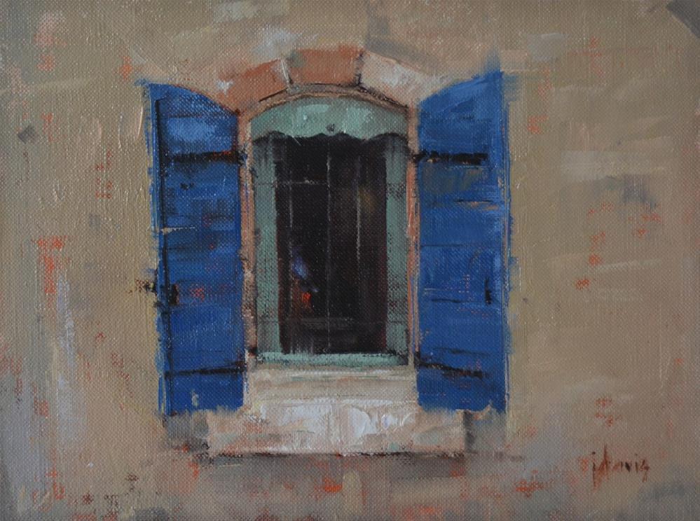 """The Window"" original fine art by Julie Davis"