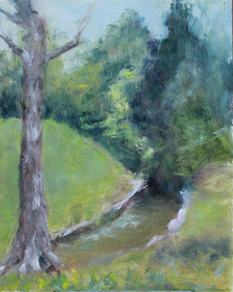 """Grapevine Springs Preserve 2"" original fine art by Karen Solorzano"