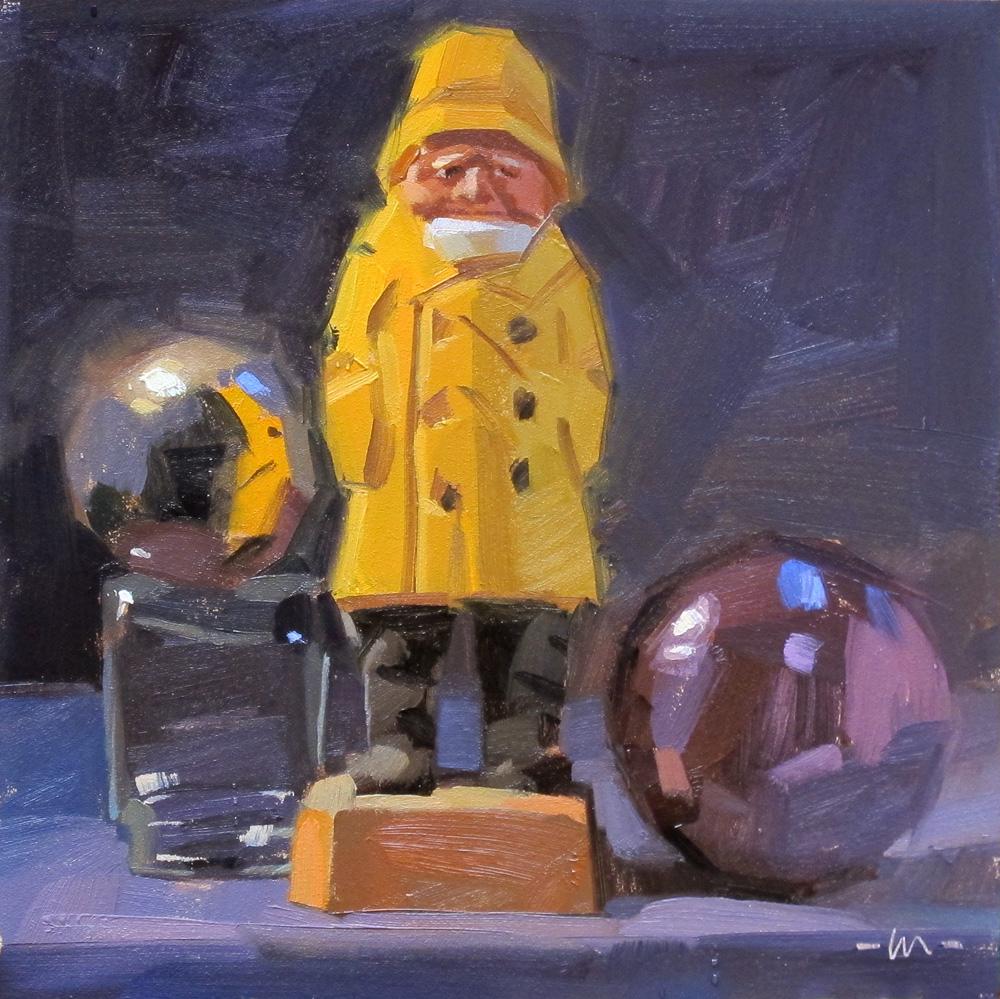 """Treasure Hunter"" original fine art by Carol Marine"