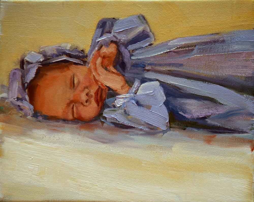 """olive"" original fine art by Carol Carmichael"