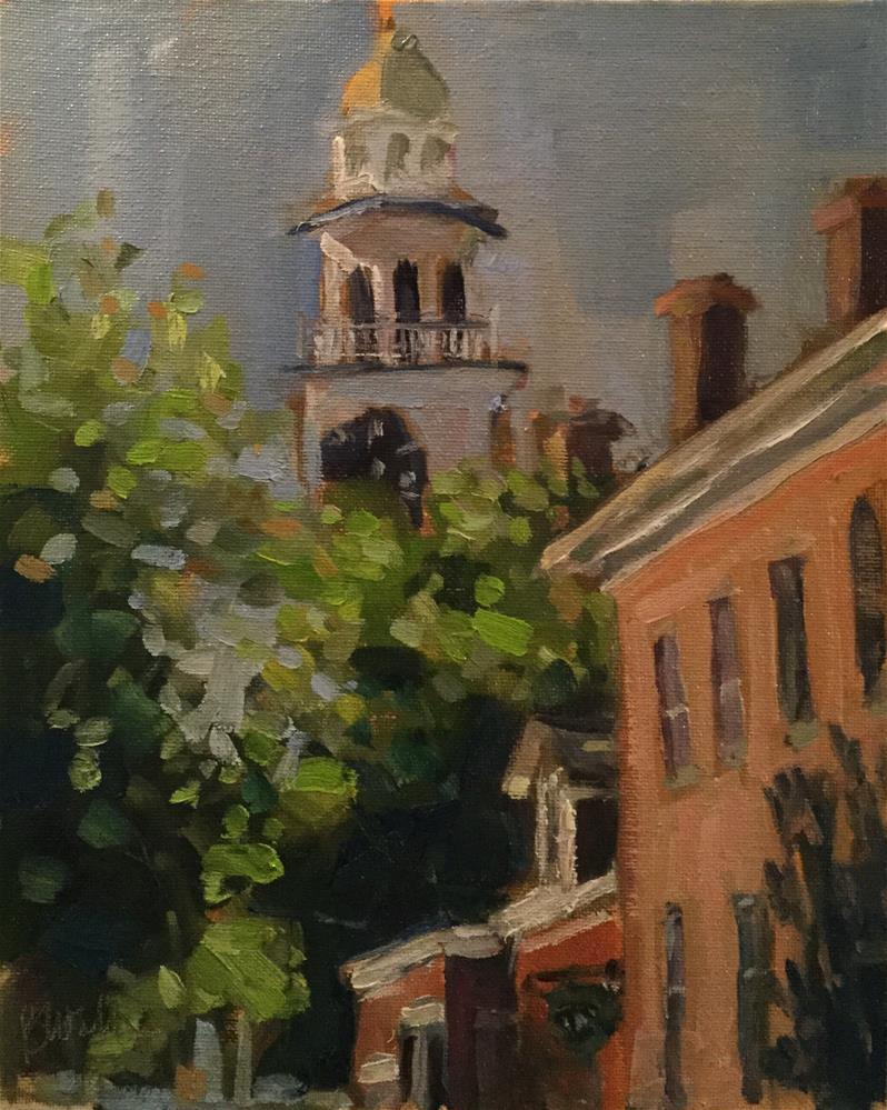 """Nantucket Day"" original fine art by Barb Walker"