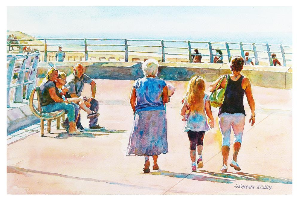"""Families"" original fine art by Graham Berry"