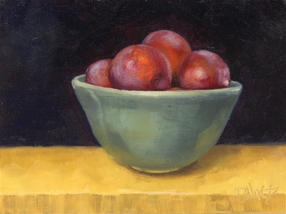 """Plum Crazy Study II"" original fine art by Susanne Billings"