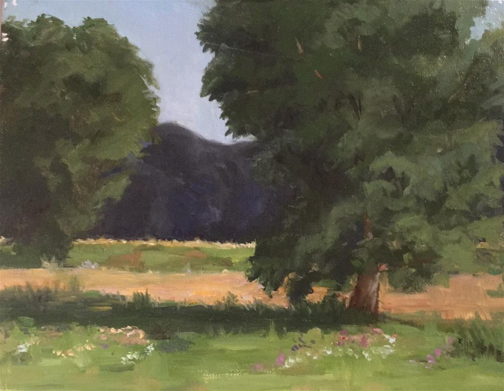 """Bruce Vento Park"" original fine art by Judith Anderson"
