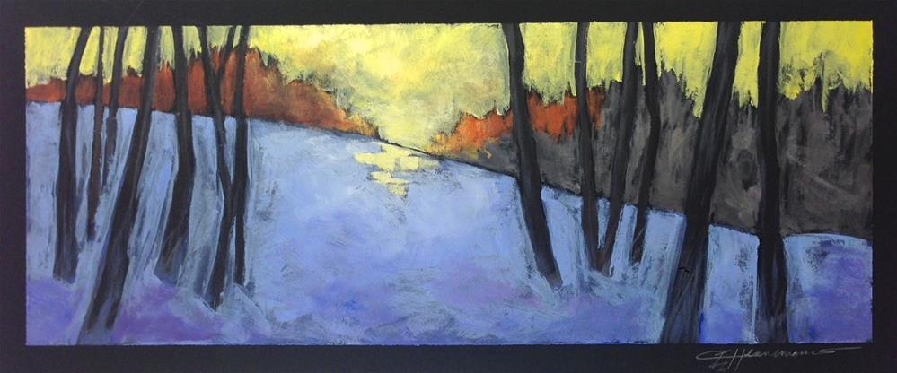 """Mont Cascades Pano"" original fine art by Eileen Hennemann"