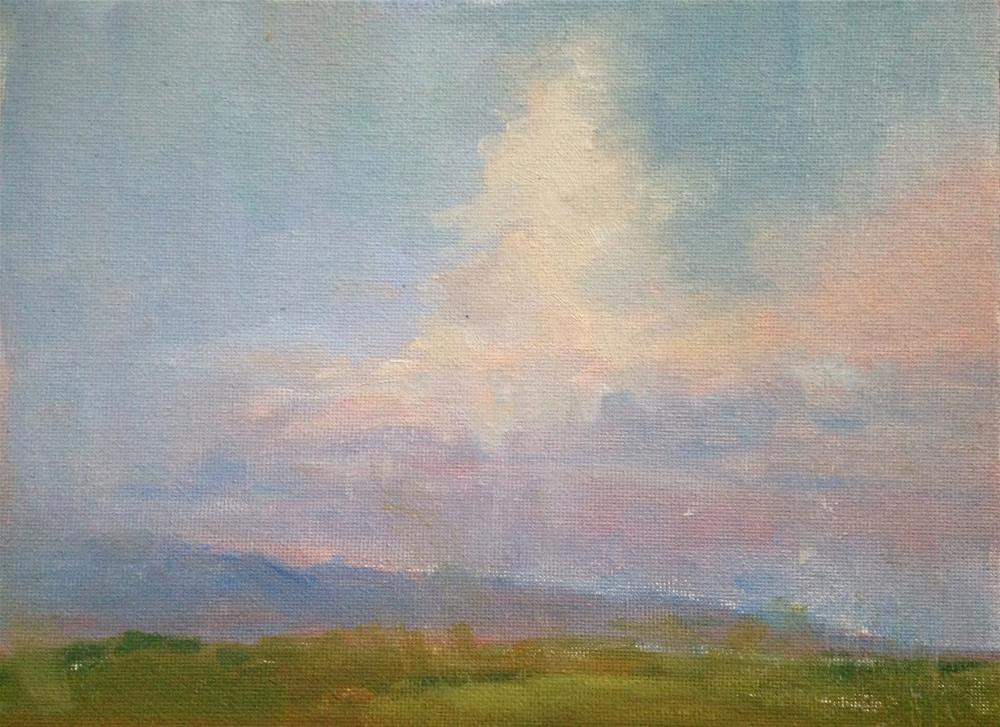 """Eastern Skies"" original fine art by Fine Art of René"