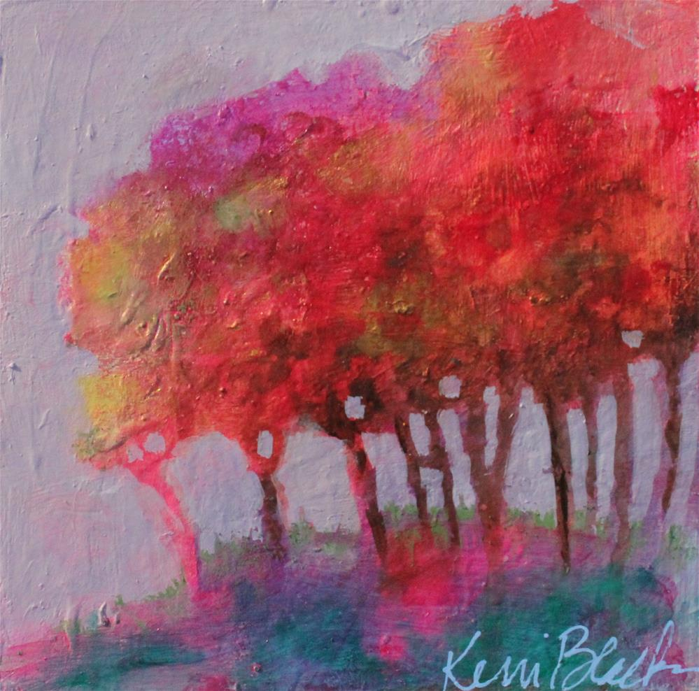 """""""Trees"""" original fine art by Kerri Blackman"""