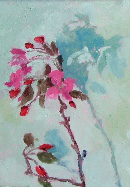 """Crab Apple 3"" original fine art by Pam Holnback"
