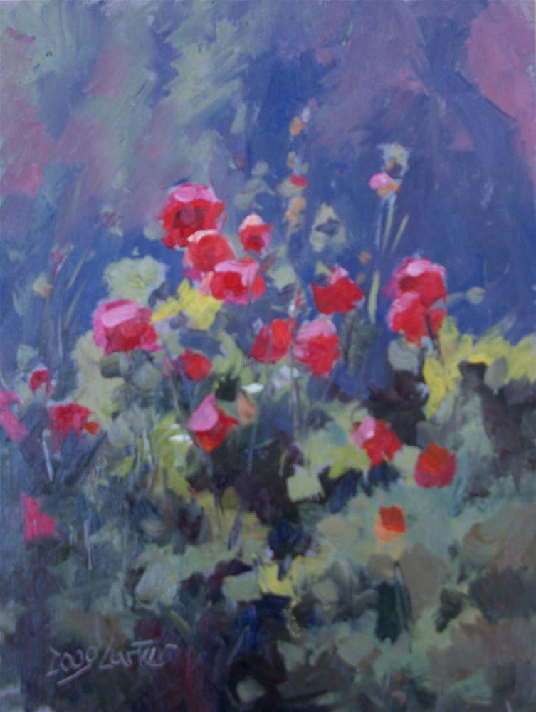 """ Garden Glow "" original fine art by Doug Carter"