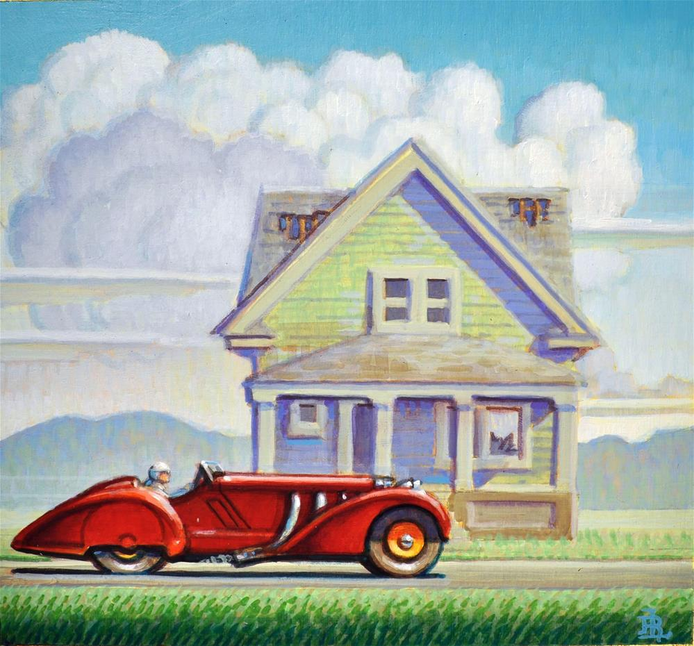 """Ghost"" original fine art by Robert LaDuke"
