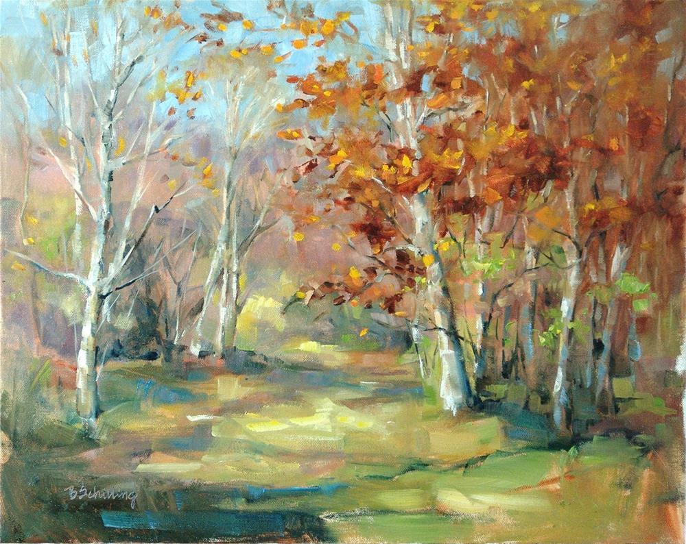 """Place of Joy"" original fine art by Barbara Schilling"