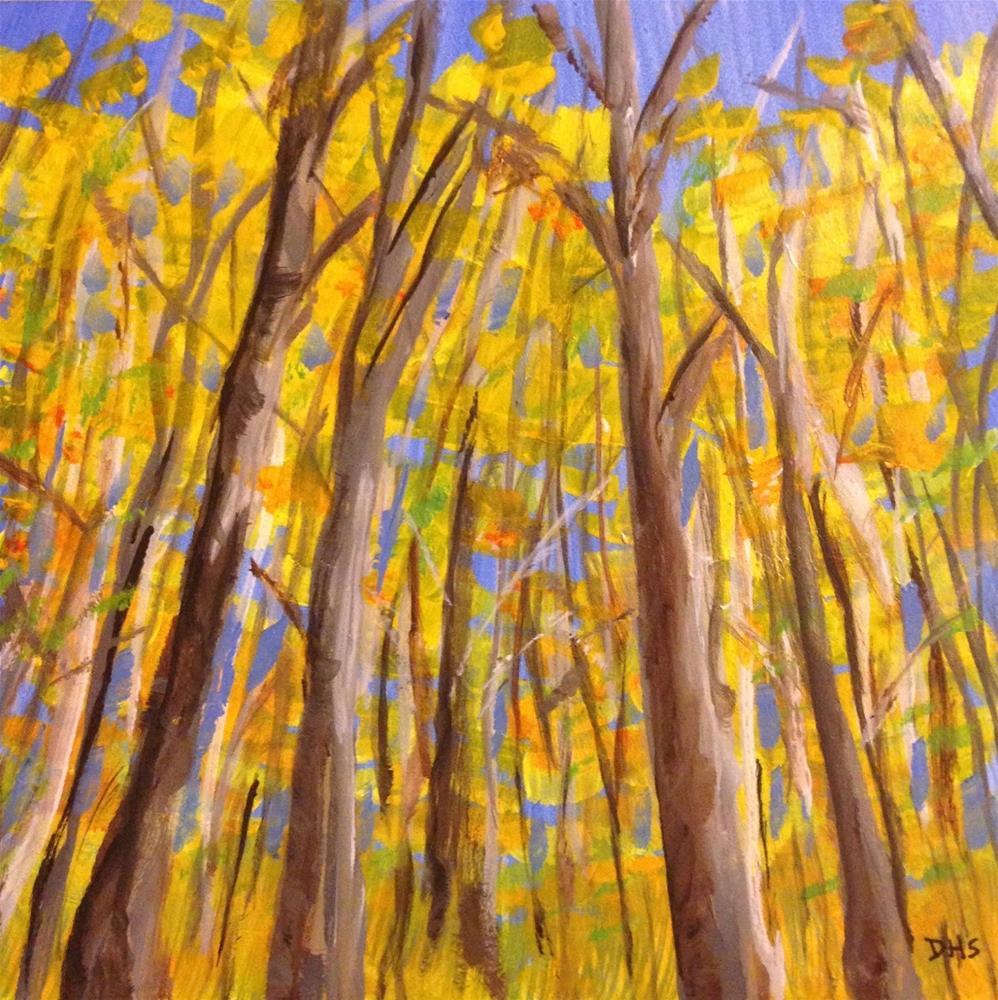 """""""Walking West Virginia"""" original fine art by Dotty  Seiter"""