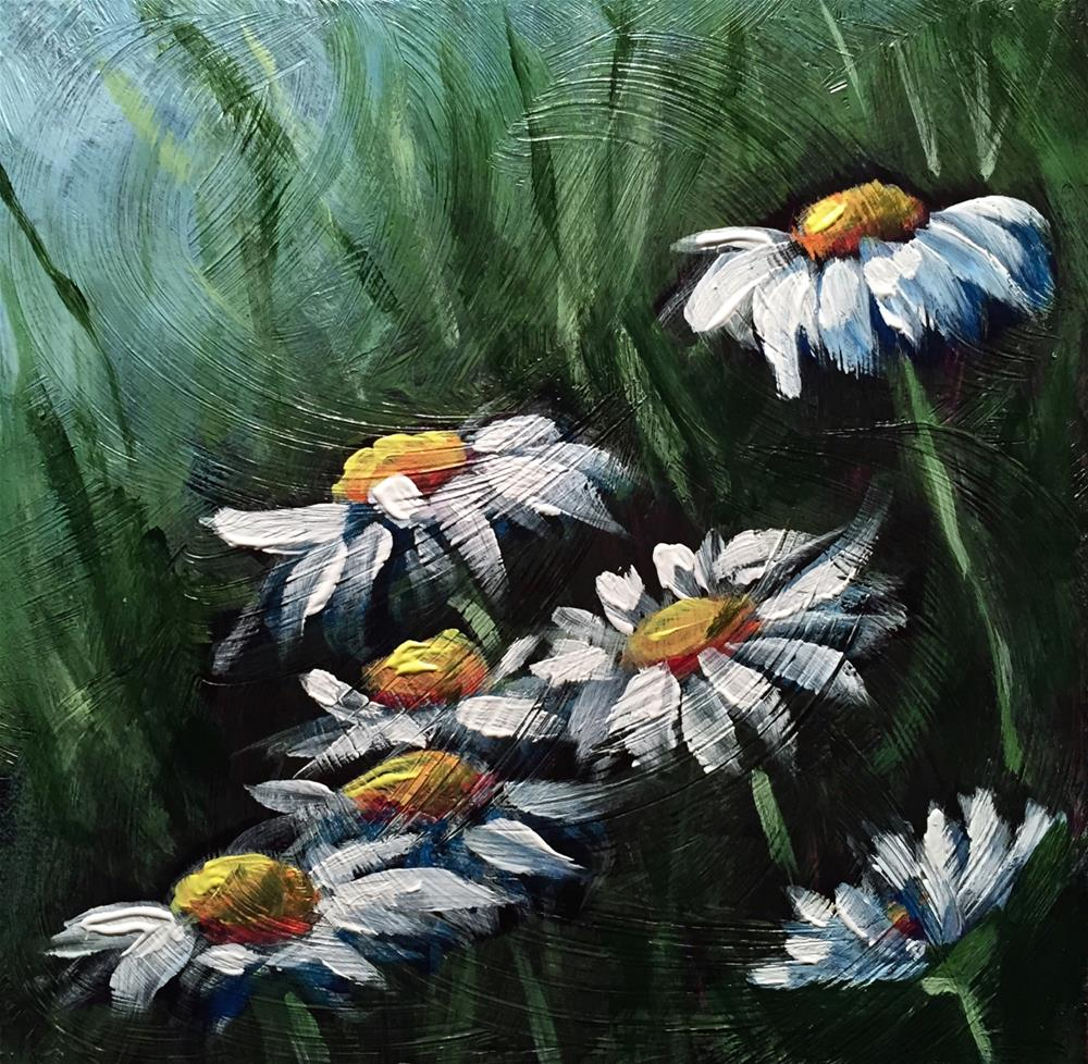 """15-20 Summer Shastas"" original fine art by Rachel Fogle"