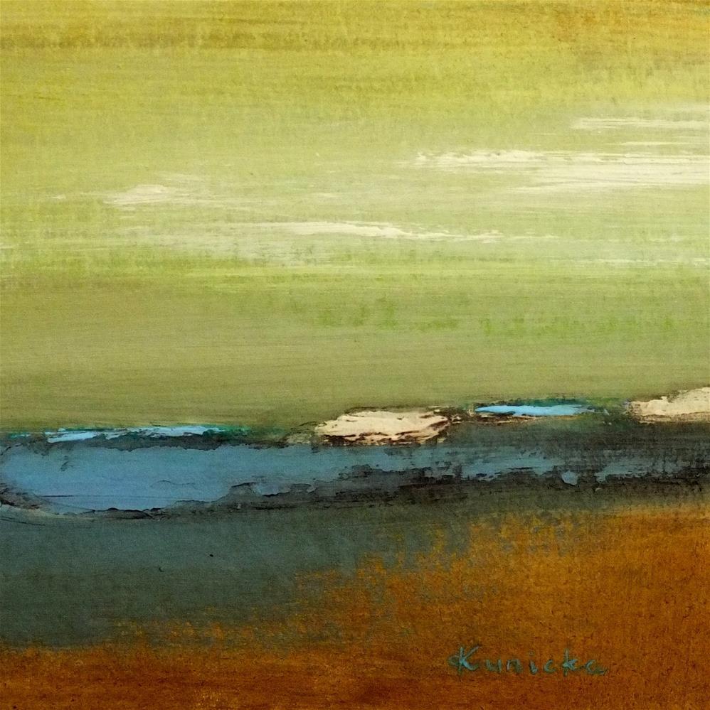"""Landscape 186"" original fine art by Ewa Kunicka"