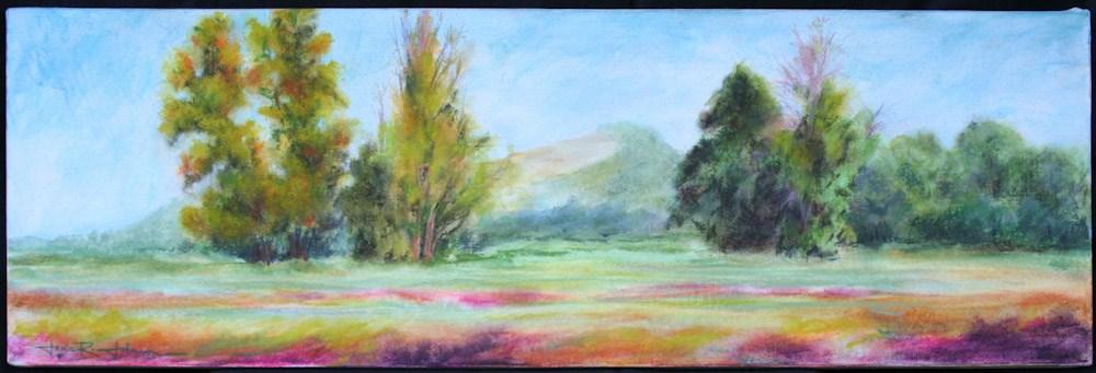 """Sparhawk Farm View"" original fine art by Jana Johnson"