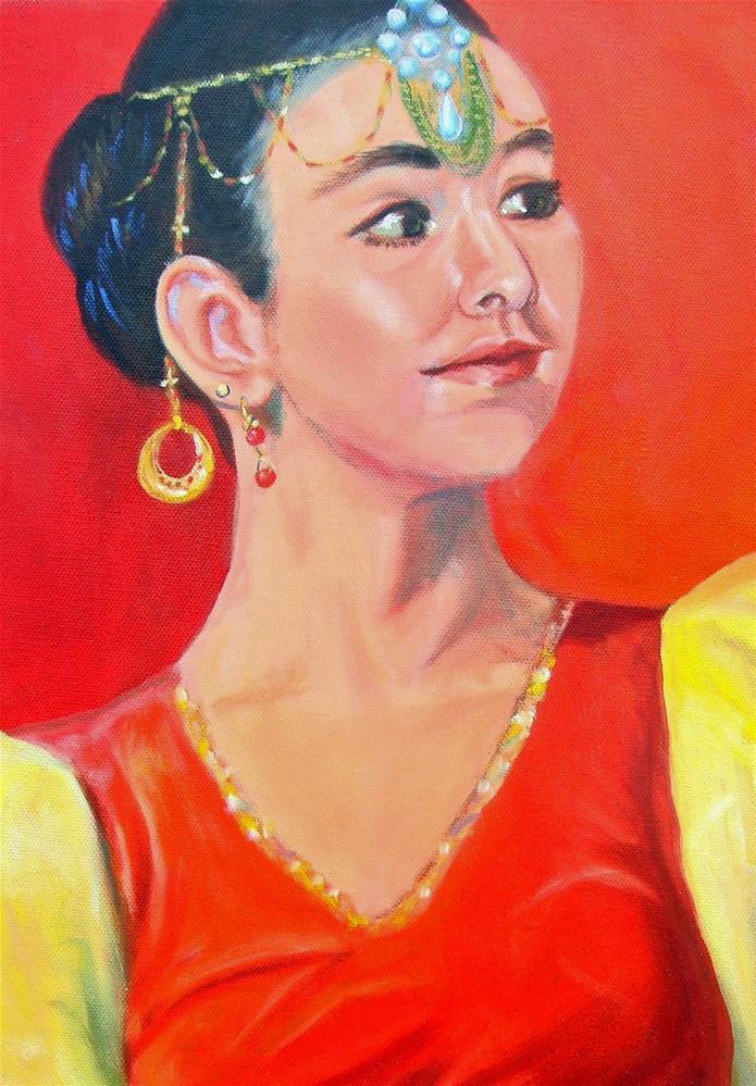 """Shaharazad"" original fine art by Susan Duda"