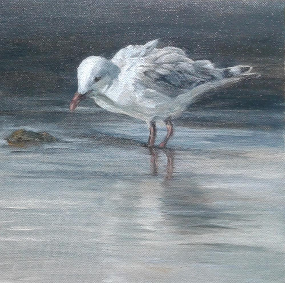 """Searching for Dinner"" original fine art by Candi Hogan"